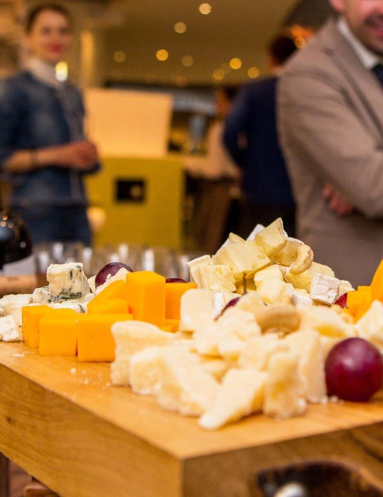 planche de formages à déguster